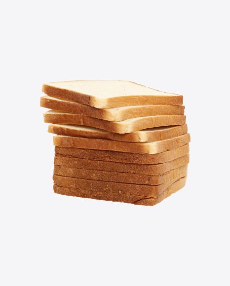 Slices of Wheat Sandwich Bread