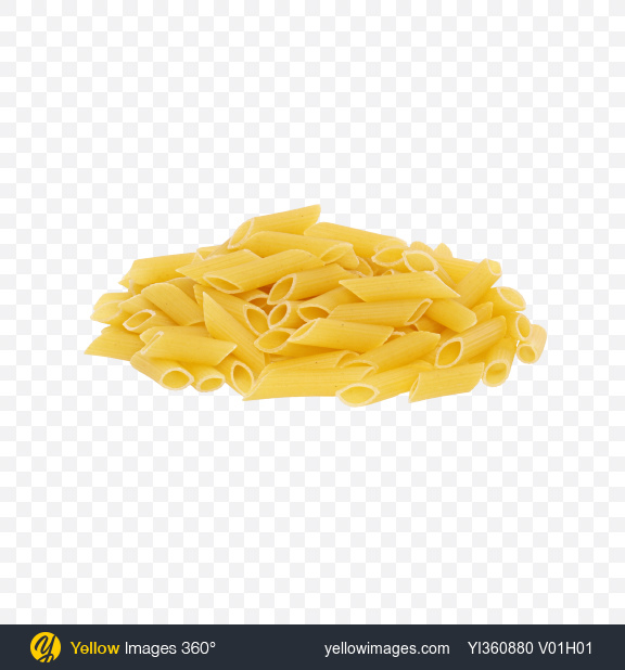 Download Pasta Penne Bunch Transparent PNG on YELLOW Images