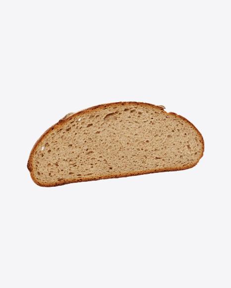 Round Bread Slice
