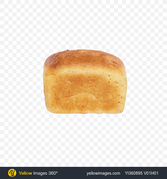 Download Wheat Bread Loaf Transparent PNG on Yellow Images 360°