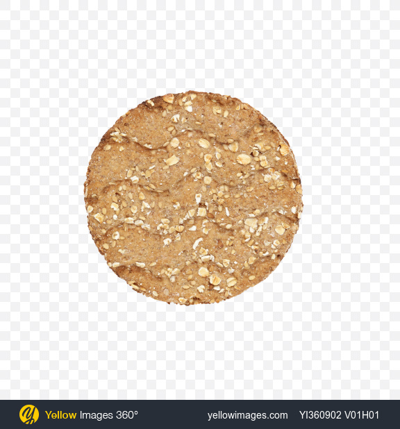 Download Multigrain Round Crispbread Transparent PNG on Yellow Images 360°