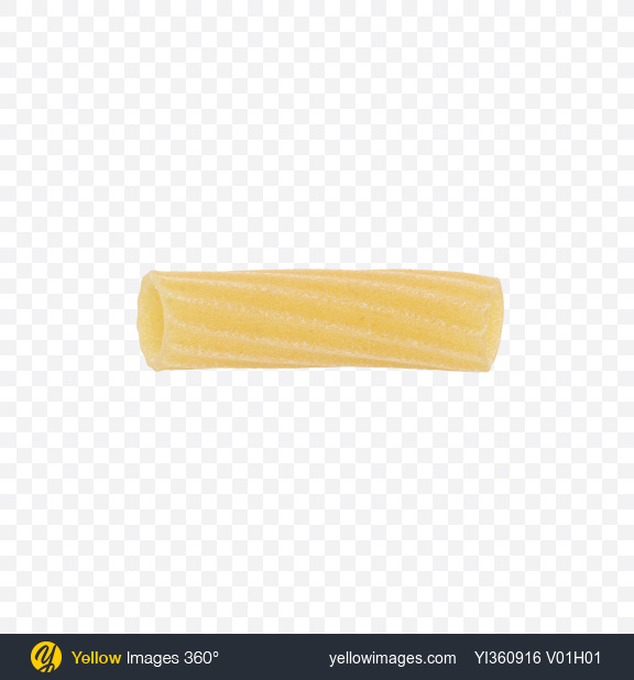 Download Tortiglioni pasta Transparent PNG on Yellow Images 360°
