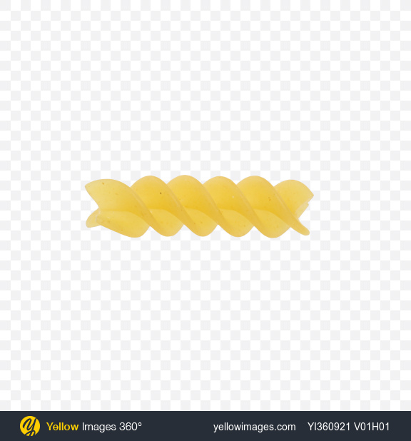 Download Rotini Pasta Transparent PNG on YELLOW Images