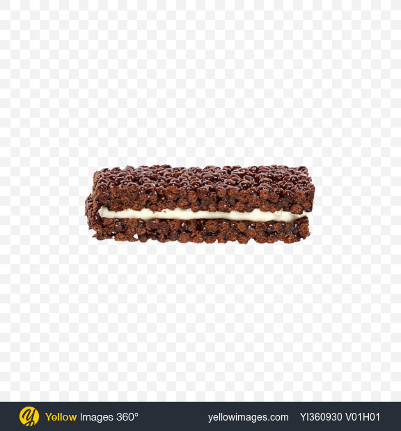Download Milk and Cocoa Bar with Cereals Transparent PNG on Yellow Images 360°