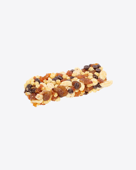 Peanuts Bar with Raisins and Dried Apricot