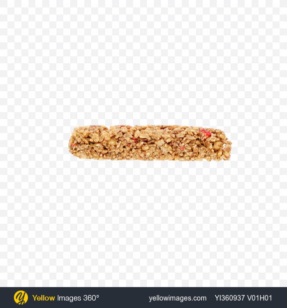 Download Cereals Bar with Strawberry Transparent PNG on Yellow Images 360°