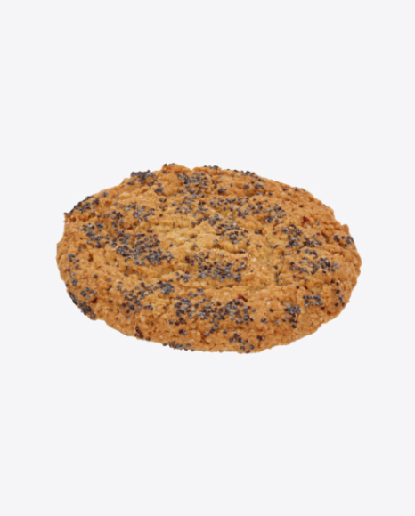 Oat Cookie with Poppy Seeds