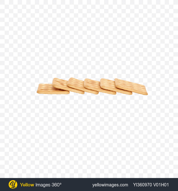 Download Six Hard Biscuits Transparent PNG on Yellow Images 360°