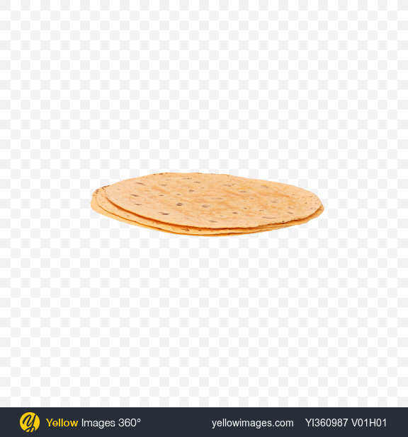 Download Wheat Tortillas with Tomato Transparent PNG on Yellow Images 360°