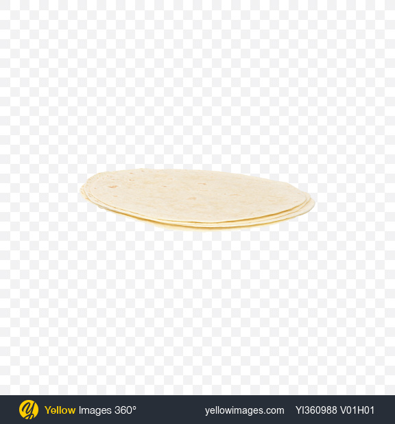 Download Wheat Tortillas Transparent PNG on Yellow Images 360°