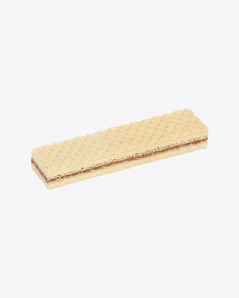 Wafer with Chocolate and Milk Cream