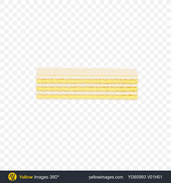 Download Wafer with Lemon Cream Transparent PNG on Yellow Images 360°