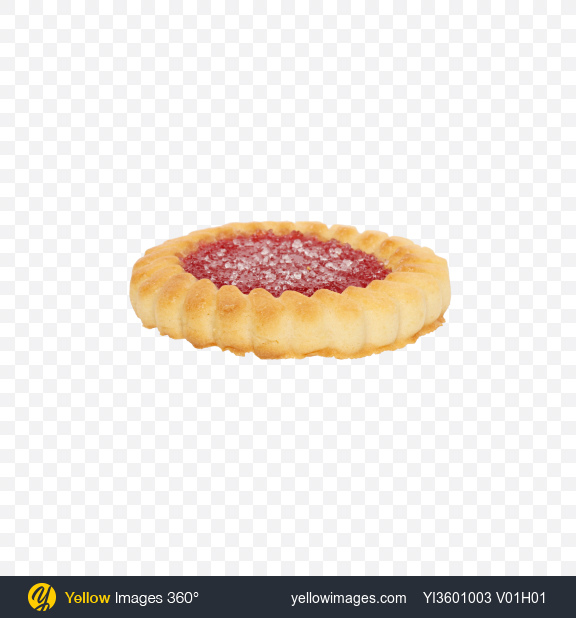 Download Cherry Marmalade Cookie Transparent PNG on Yellow Images 360°