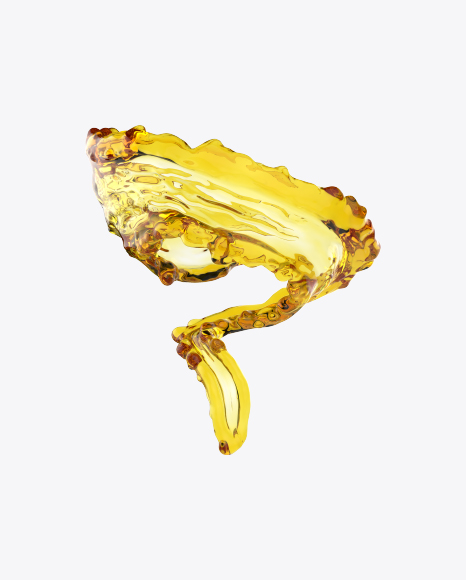 Twisted Sunflower Oil Splash