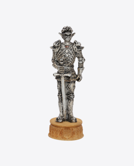 Chess King Figure