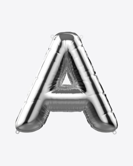 Letter A Foil Balloon