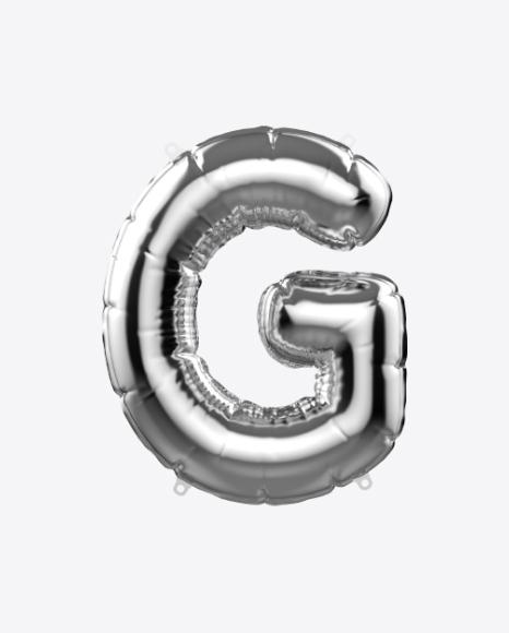 Letter G Foil Balloon