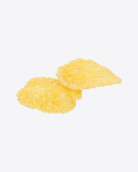 Two Corn Flakes