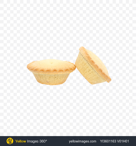 Download Two Mini Pies Transparent PNG on Yellow Images 360°