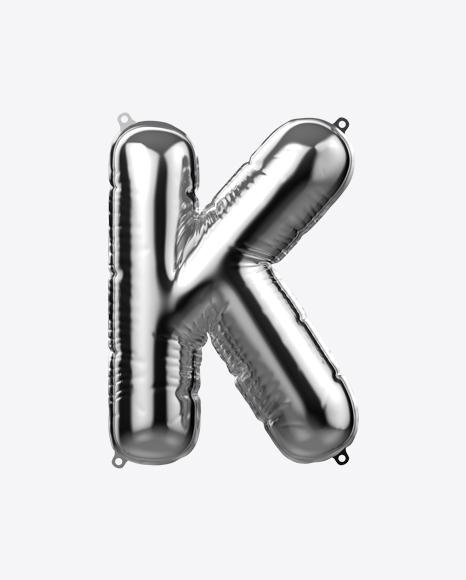 Letter K Foil Balloon