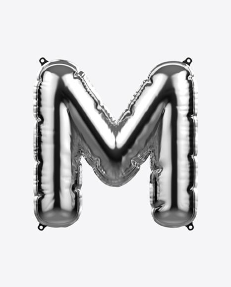 Letter M Foil Balloon