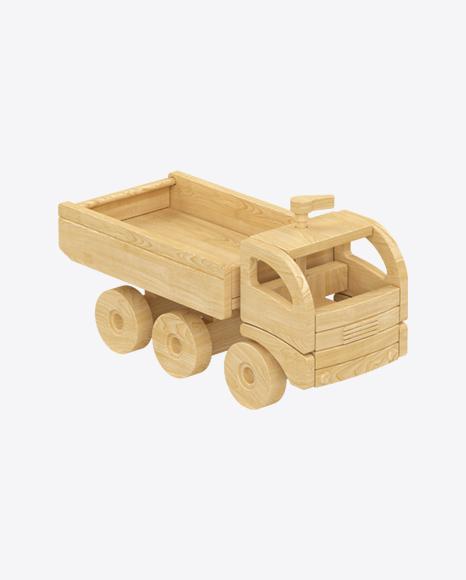Dump Truck Wooden Toy