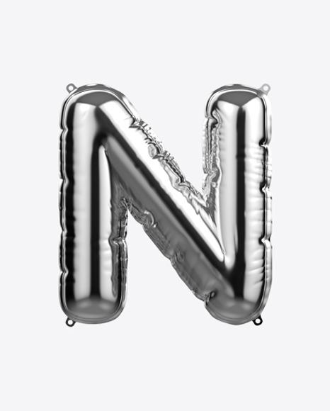 Letter N Foil Balloon