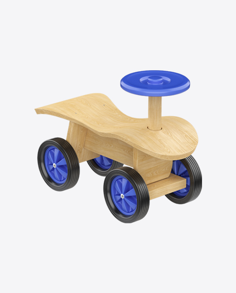 Wooden Push Car for Kids