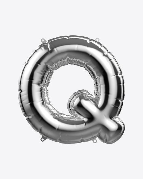 Letter Q Foil Balloon