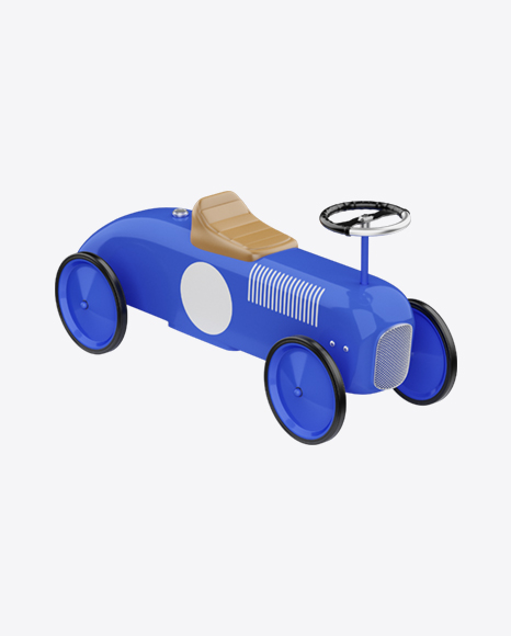 Retro Push Car for Kids