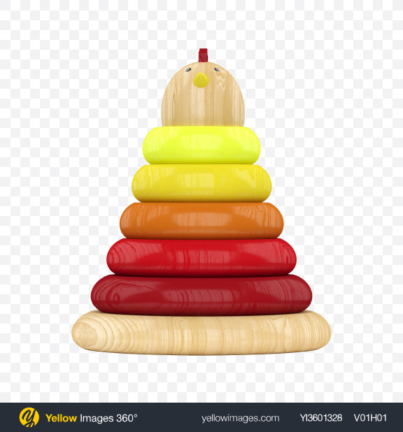 Download Wooden Toy Pyramid Transparent PNG on YELLOW Images
