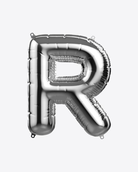 Letter R Foil Balloon