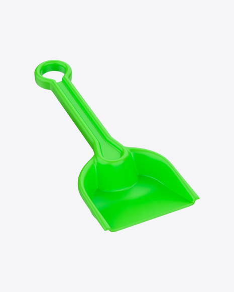 Plastic Toy Shovel