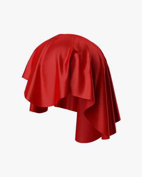 Red Satin Cloth