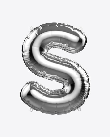 Letter S Foil Balloon