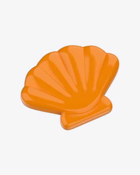 Orange Shell Beach Toy