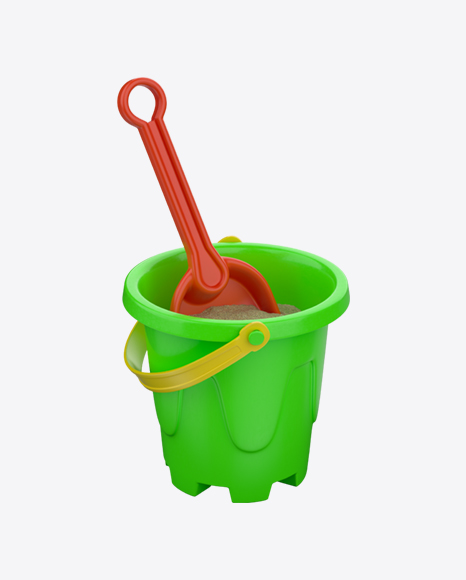 Castle Bucket With Shovel Toy