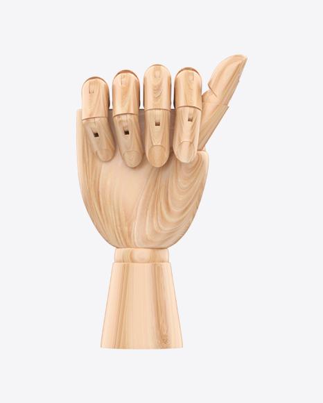 Wooden Hand Mannequin