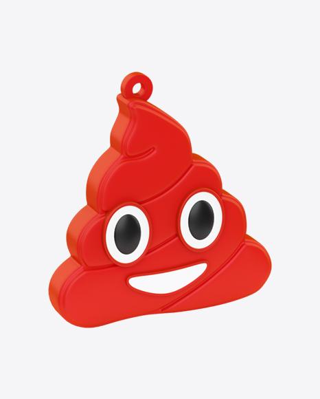 Poo Emoji Dangler