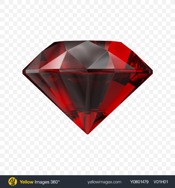 Download Ruby Stone Transparent PNG on Yellow Images 360°
