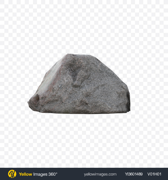 Download Grey Stone Transparent PNG on Yellow Images 360°