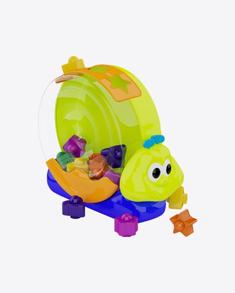 Snail Shape Sorter Toy