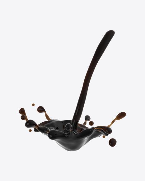 Pouring Coffee Splash