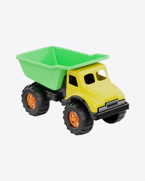 Dump Truck Plastic Toy