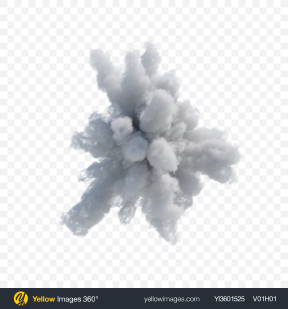 Download Exploding Cloud Transparent PNG on YELLOW Images