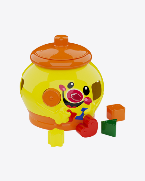 Head Shape Sorter Toy