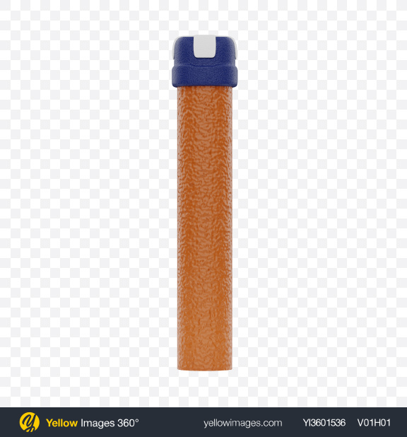 Download Dart Blaster Toy Bullet Transparent PNG on Yellow Images 360°