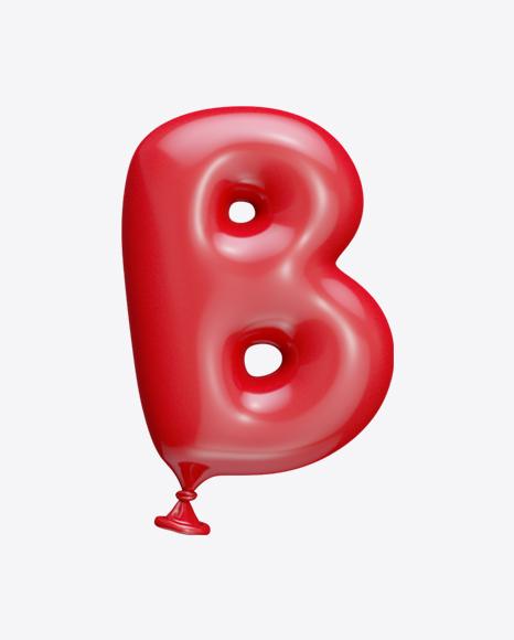 Letter B Balloon