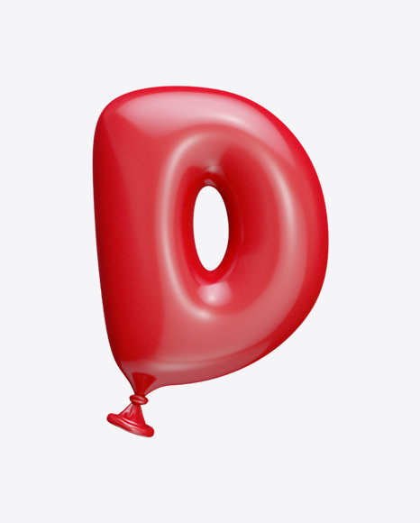 Letter D Balloon