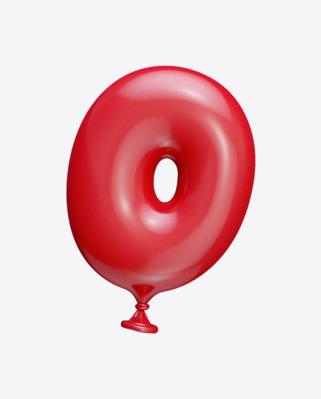 Letter O Balloon